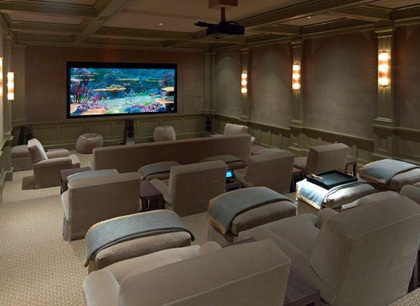 Home theater sob medida